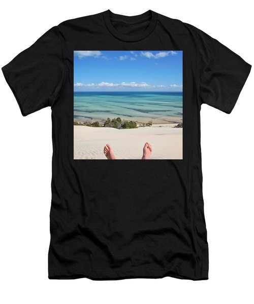 Ocean Views Men's T-Shirt (Athletic Fit)