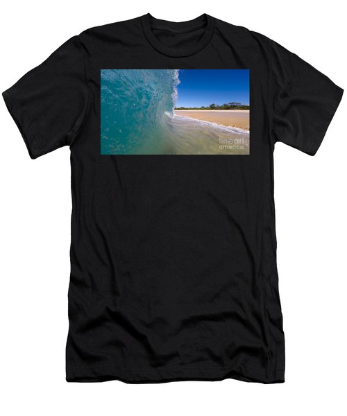 Ocean Wave Barrel Men's T-Shirt (Athletic Fit)