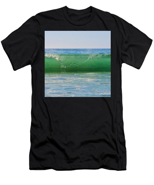 Men's T-Shirt (Athletic Fit) featuring the photograph Ocean Wave by Marianna Mills