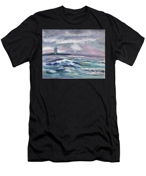 Oceans Of Color Men's T-Shirt (Athletic Fit)