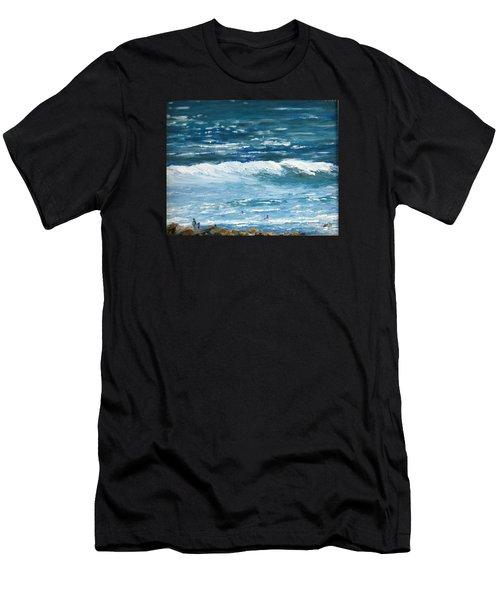 Oceanside 3 O'clock Men's T-Shirt (Athletic Fit)