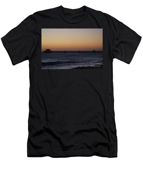 Oceanside Pier Men's T-Shirt (Athletic Fit)