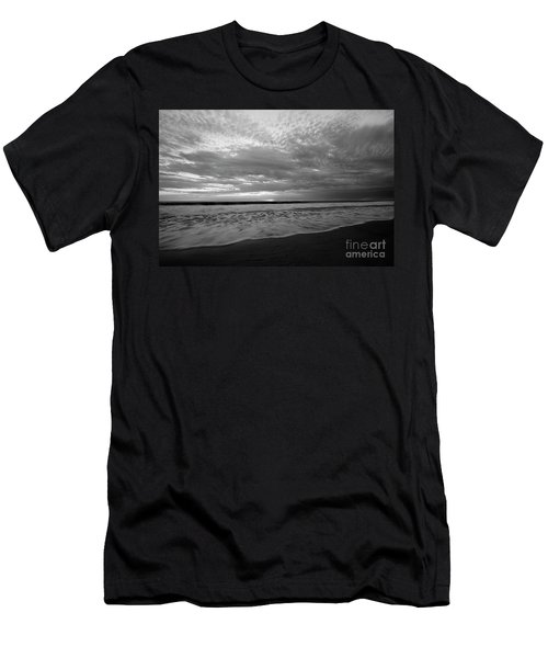 Men's T-Shirt (Athletic Fit) featuring the photograph Oceanside Surf by John F Tsumas