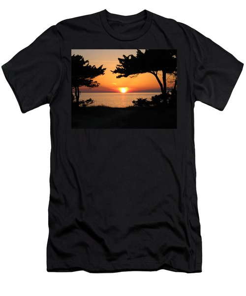 Ocracoke Island Winter Sunset Men's T-Shirt (Athletic Fit)