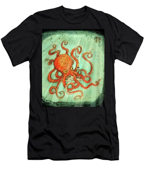 Octo Tako With Surprise Men's T-Shirt (Athletic Fit)