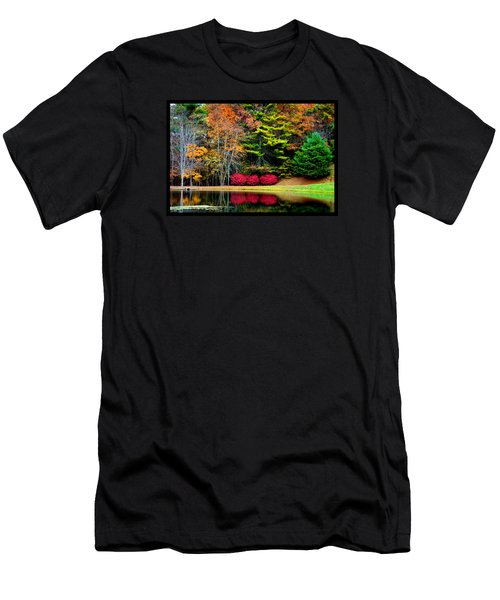 October Afternoon In The Blue Ridge Mountains Men's T-Shirt (Athletic Fit)