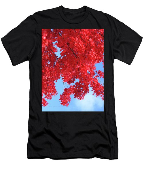 October In The Valley - Fire In The Sky Men's T-Shirt (Athletic Fit)