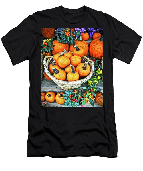 October Pumpkins Men's T-Shirt (Athletic Fit)
