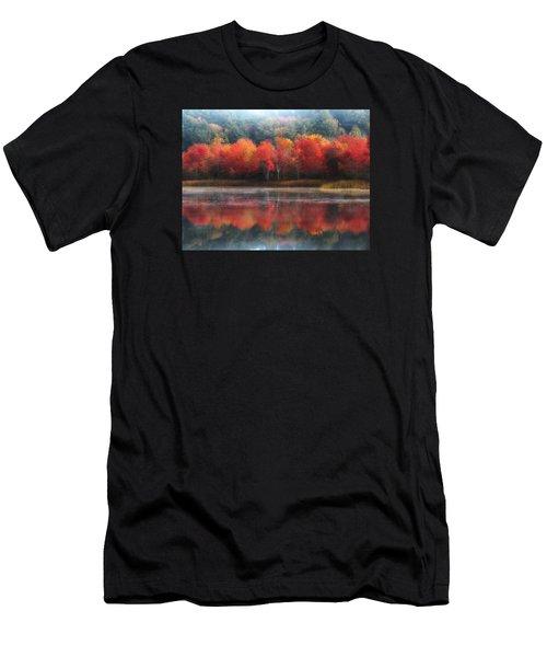 October Trees - Autumn  Men's T-Shirt (Athletic Fit)