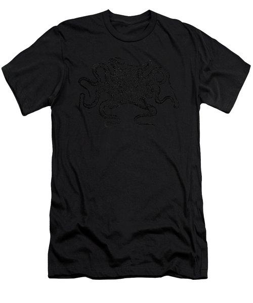 Octopus T-shirt Men's T-Shirt (Athletic Fit)