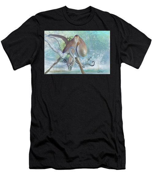 Octupus - 2 Men's T-Shirt (Athletic Fit)