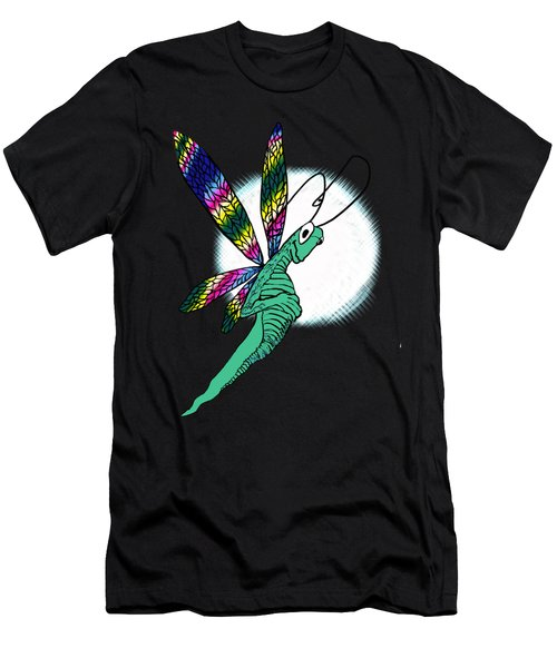 Odd Dragonfly Men's T-Shirt (Athletic Fit)