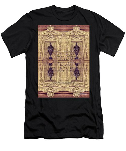 Ode To A Grecian Urn Palais Garnier Paris France Men's T-Shirt (Athletic Fit)