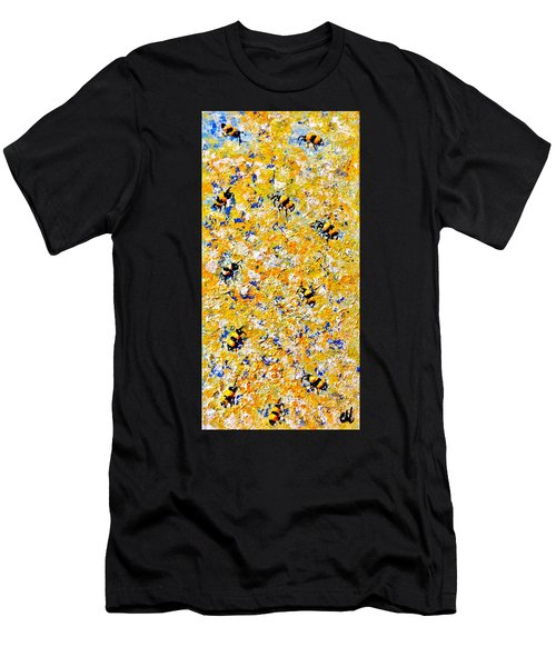 Ode To Bees.. Men's T-Shirt (Athletic Fit)