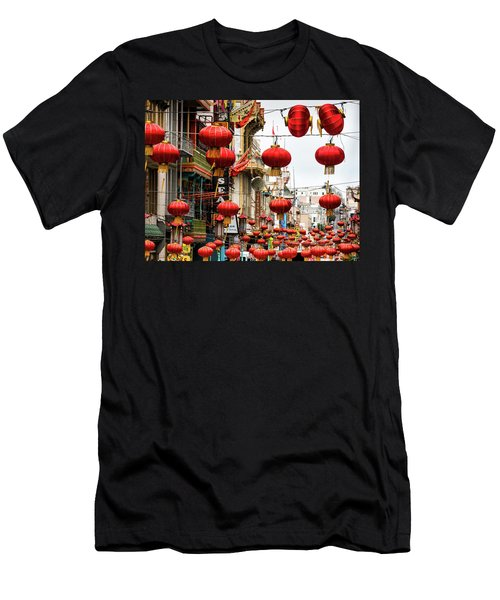 Red Lanterns Men's T-Shirt (Athletic Fit)