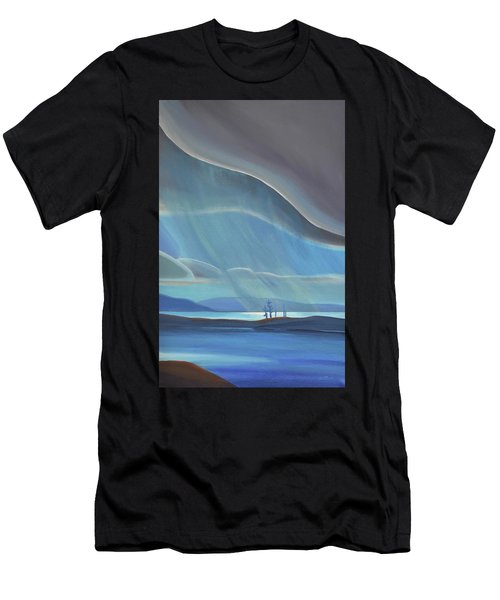 Ode To The North II - Rh Panel Men's T-Shirt (Athletic Fit)