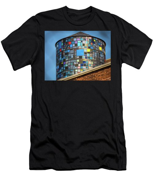 Ode To Water Towers Men's T-Shirt (Athletic Fit)