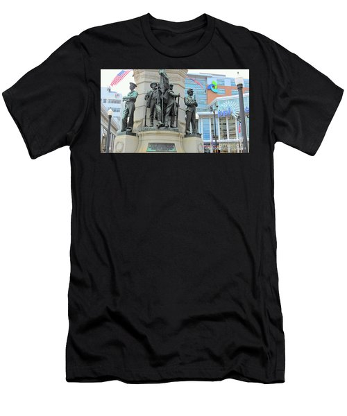 Of Soldiers And Sailors Men's T-Shirt (Athletic Fit)