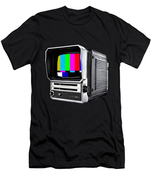 Men's T-Shirt (Athletic Fit) featuring the photograph Off Air Tee by Edward Fielding