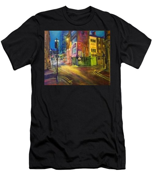 Off Shudehill Manchester Men's T-Shirt (Athletic Fit)