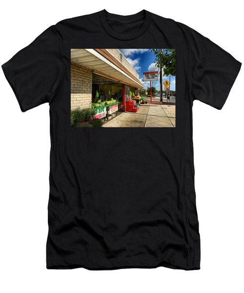 Off To The Market Men's T-Shirt (Athletic Fit)
