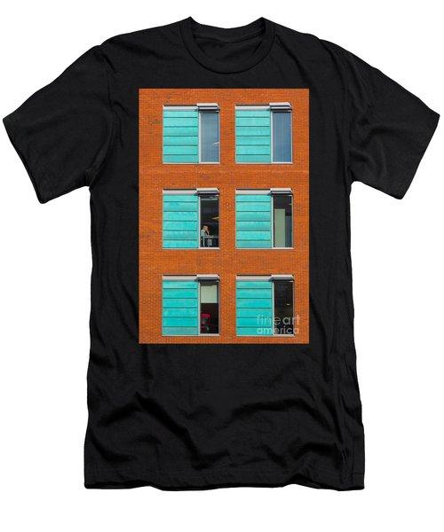 Office Windows Men's T-Shirt (Athletic Fit)