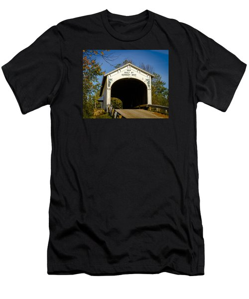 Offutt's Ford Covered Bridge Men's T-Shirt (Athletic Fit)