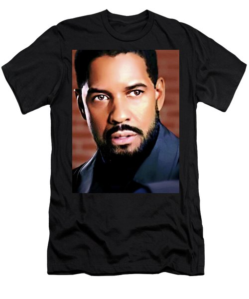 Oh, Lawd Denzel Men's T-Shirt (Athletic Fit)