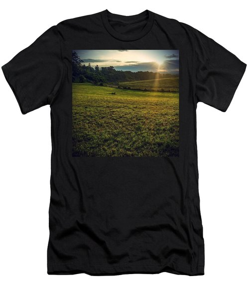 Oh What A Beautiful Morning Men's T-Shirt (Athletic Fit)