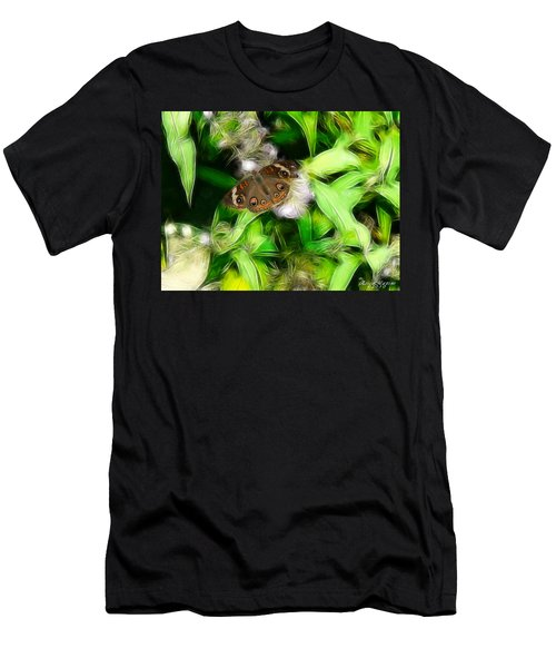 Men's T-Shirt (Slim Fit) featuring the photograph Ohio Buckeye by EricaMaxine  Price