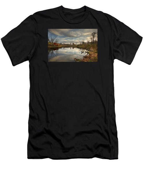 Ohio Sunset Men's T-Shirt (Athletic Fit)