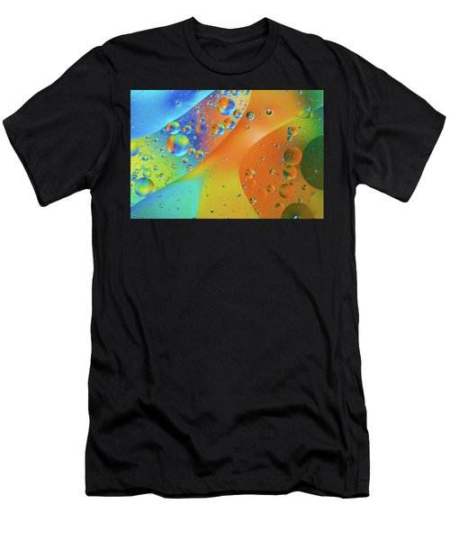 Oil And Water 10 Men's T-Shirt (Athletic Fit)