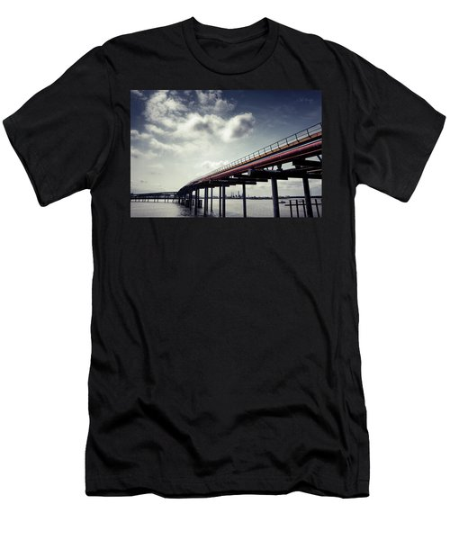 Oil Bridge Men's T-Shirt (Athletic Fit)