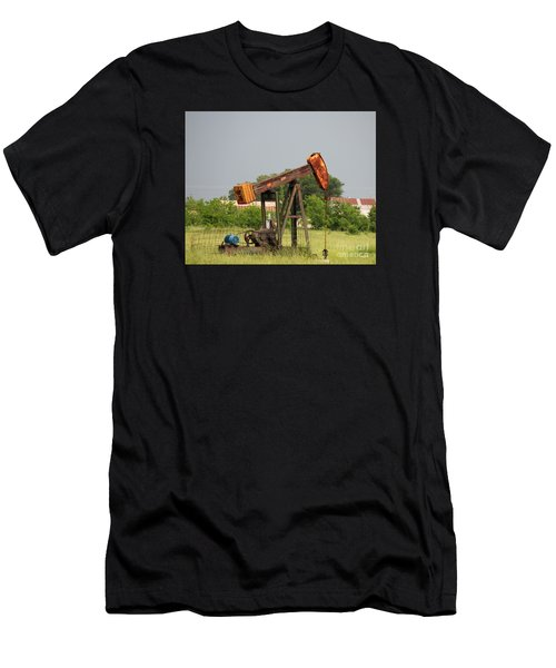 Oil Well 2 Men's T-Shirt (Athletic Fit)