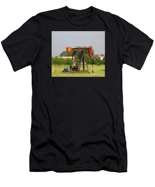 Oil Well Men's T-Shirt (Athletic Fit)