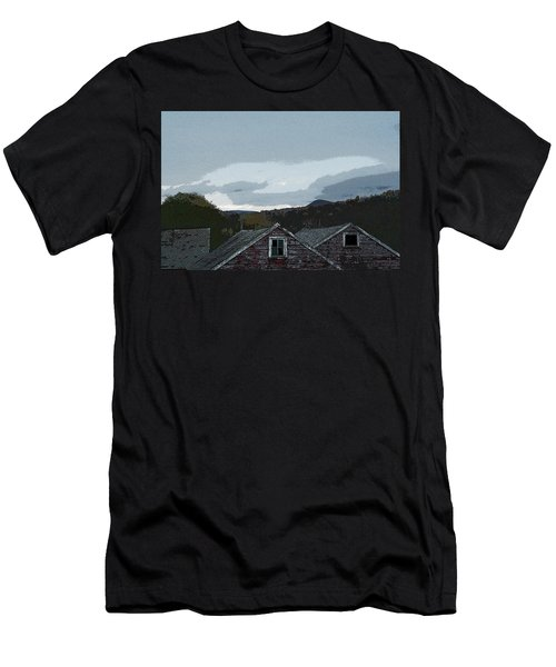 Old Barns Men's T-Shirt (Athletic Fit)