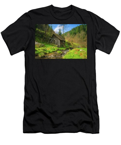 Old Black Forest Mill Men's T-Shirt (Athletic Fit)