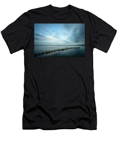 Old Blue Morning Men's T-Shirt (Athletic Fit)