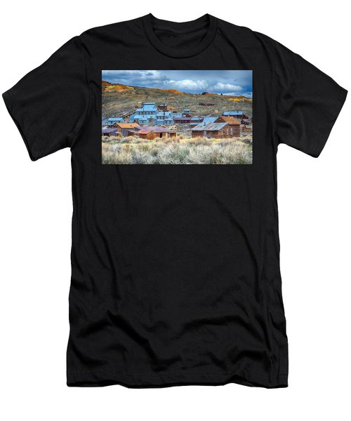 Old Bodie Gold Mining Town Men's T-Shirt (Athletic Fit)