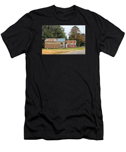 Old Buildings At Burnt Corn Men's T-Shirt (Athletic Fit)