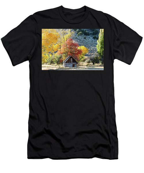.  Butch Cassidy's Home Place  Men's T-Shirt (Athletic Fit)
