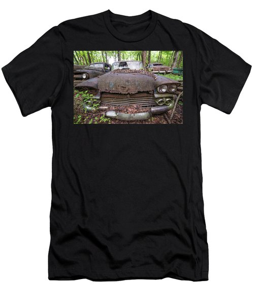 Old Car City In Color Men's T-Shirt (Athletic Fit)