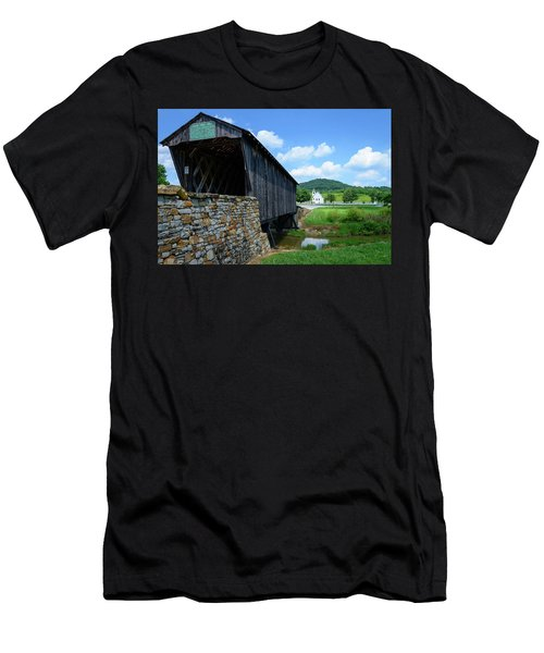 Old Country Road Men's T-Shirt (Athletic Fit)
