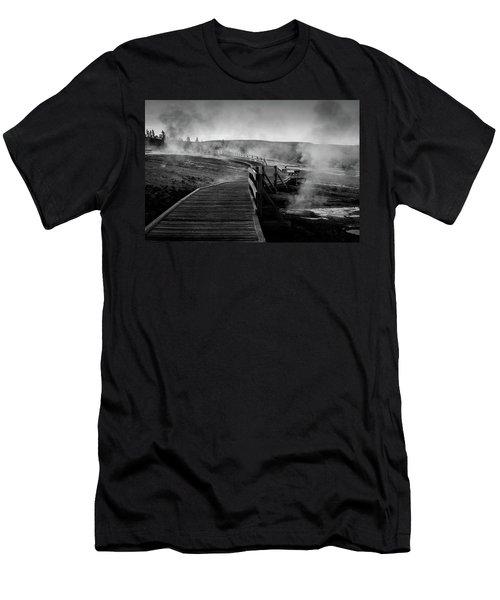 Old Faithful Boardwalk Men's T-Shirt (Athletic Fit)