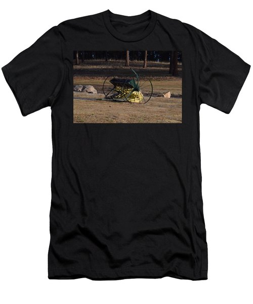 Old Farm Implement Lake George Co Men's T-Shirt (Athletic Fit)