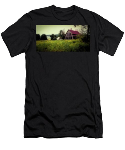 Old Farmhouse - Woodstock, Vermont Men's T-Shirt (Athletic Fit)