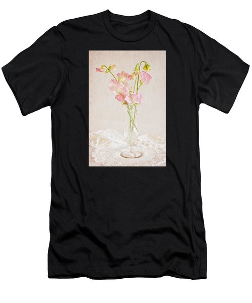Old Fashioned Sweet Peas Men's T-Shirt (Athletic Fit)