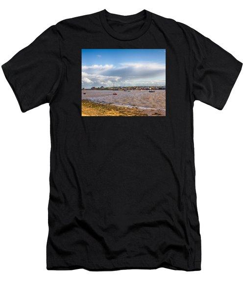 Old Felixstowe 8x10 Men's T-Shirt (Athletic Fit)