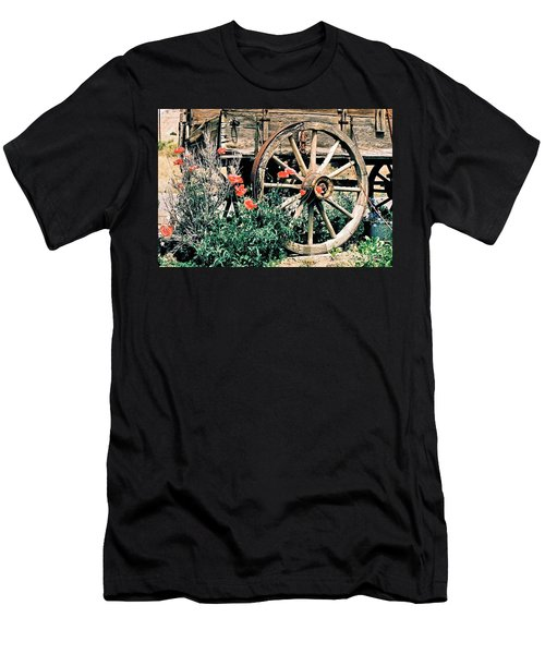 Old Freight Wagon Men's T-Shirt (Athletic Fit)