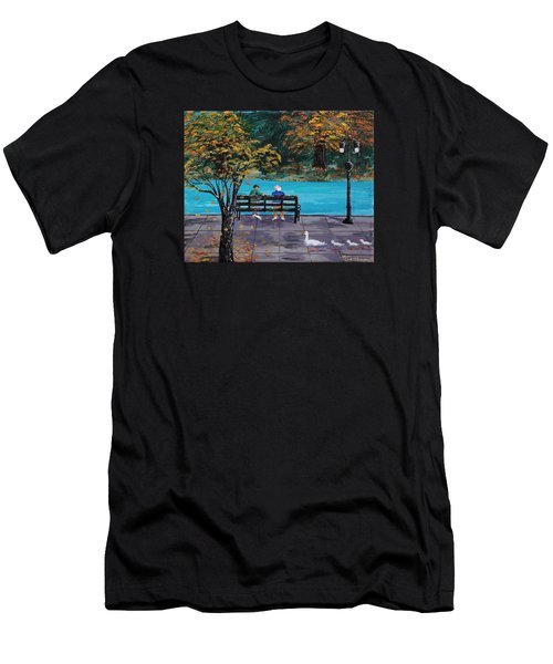 Old Friends Men's T-Shirt (Athletic Fit)